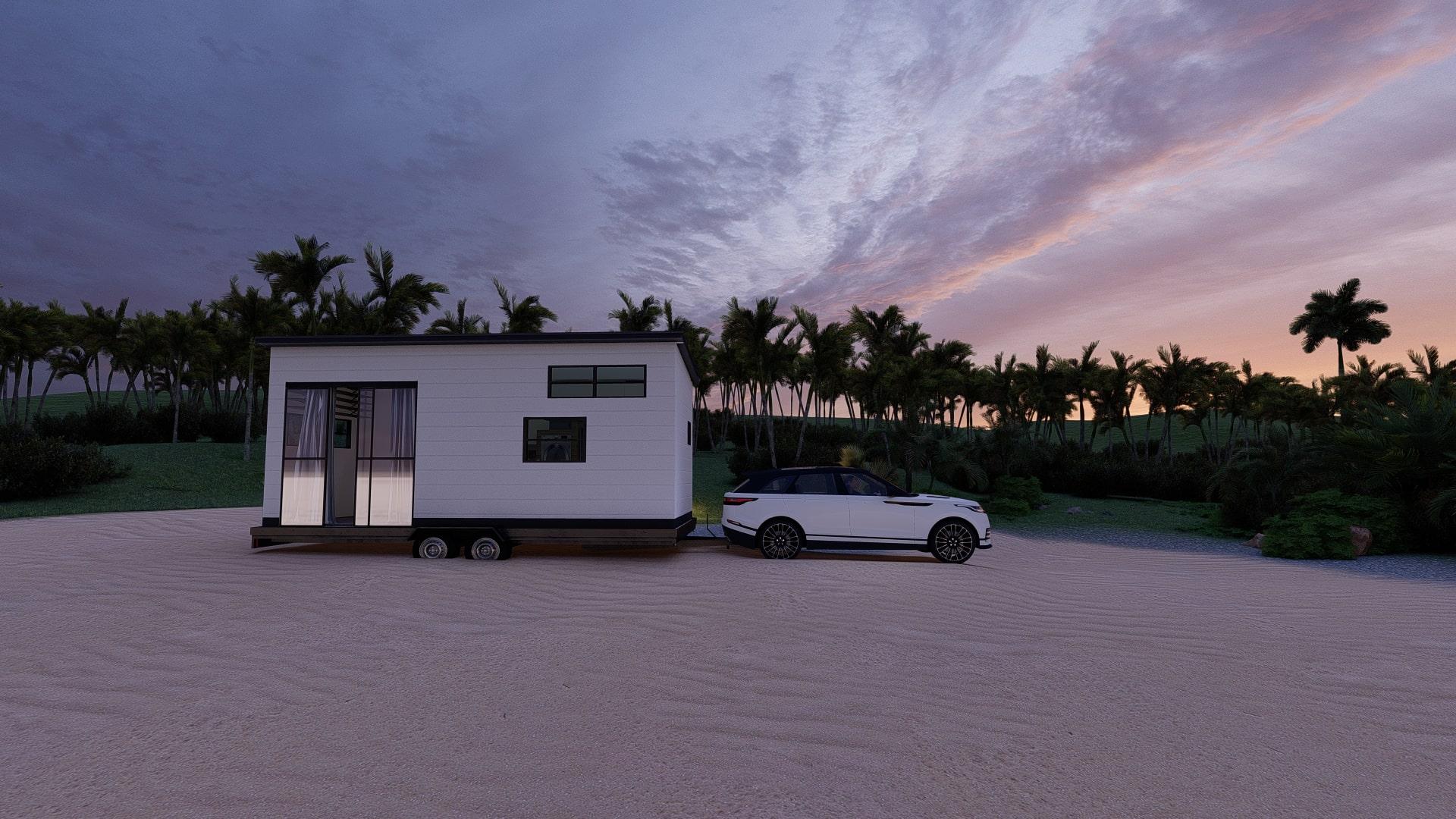 tiny house ebatları, gezen evlerin ebatları, küçük evlerin ölçüleri